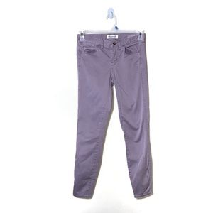 Madewell | Lavender Skinny Mid-Rise Jeans